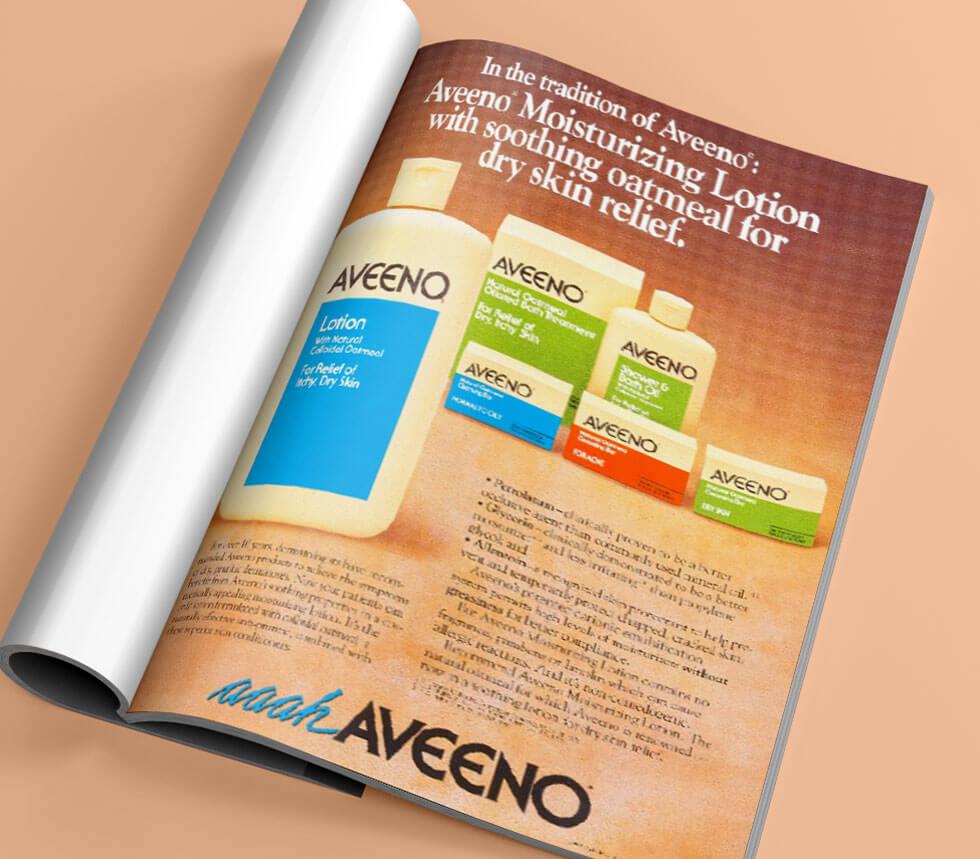 Aveeno® historia - tidskrift